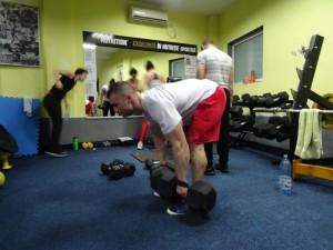 Indreptari cu gantere - antrenament picioare