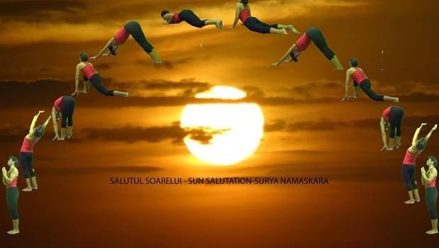 SALUTUL SOARELUI – Surya Namaskara