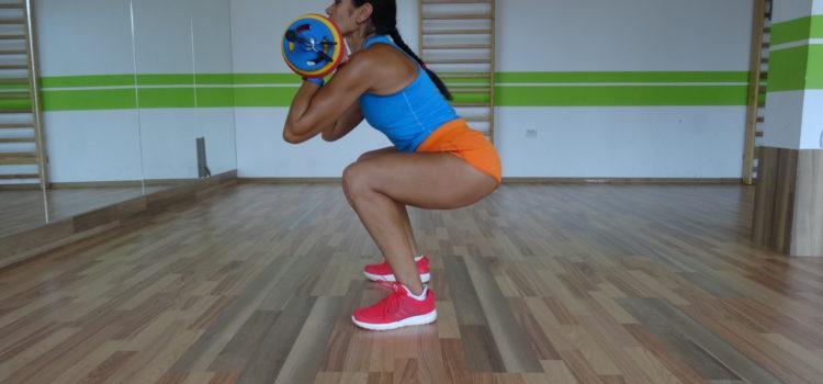Exerciții pentru picioare – Genuflexiuni  (24 tipuri diferite)