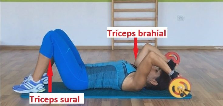 Exerciții pentru tricepși – Antrenarea tricepșilor brahiali și surali
